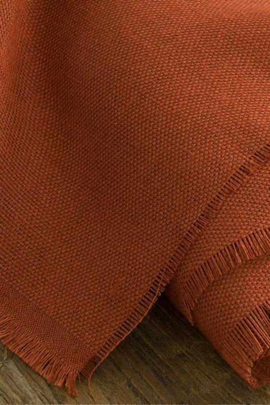 shaker cloth / 2007-06 / rustic red