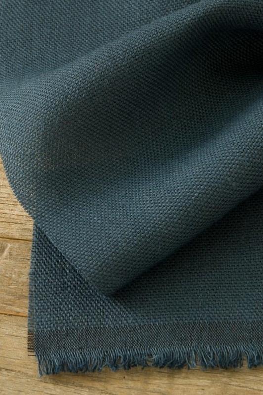 shaker cloth / 2007-07 / indigo