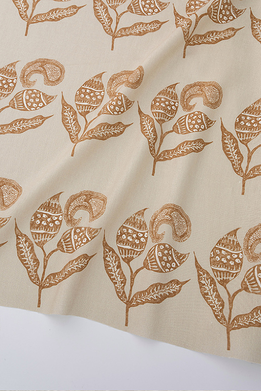 paisley sprigs/106302/taupe sunset