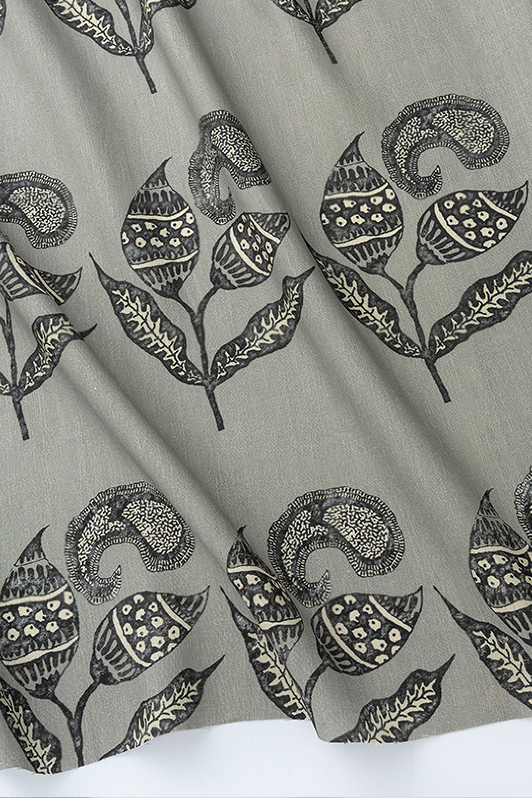 paisley sprigs/1063-08/chateau gray