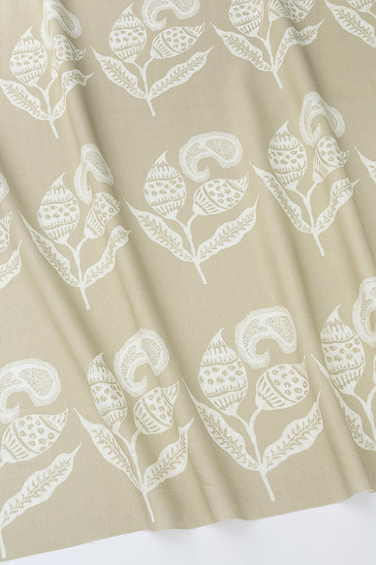 paisley sprigs/1063-10/pewter pearl