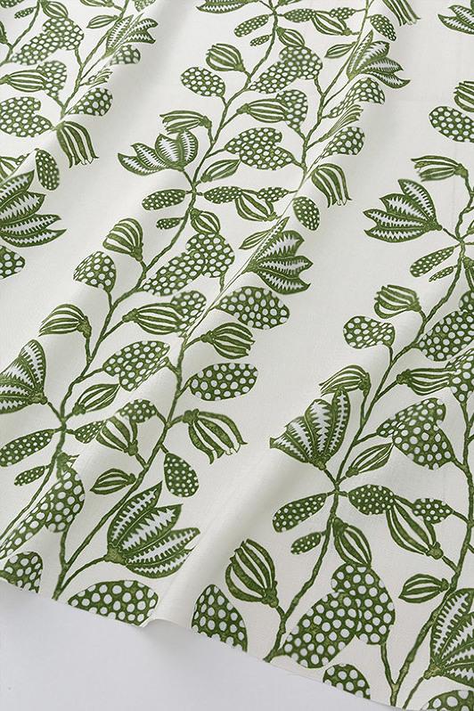 forever vines/1064-04/olive porcelain