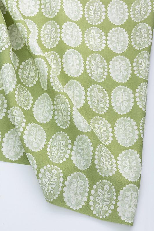 leaves & pearls/1065-03/chartreuse jardin